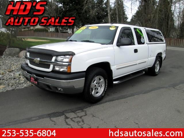 2005 Chevrolet Silverado 1500 LT Ext. Cab Short Bed 4WD