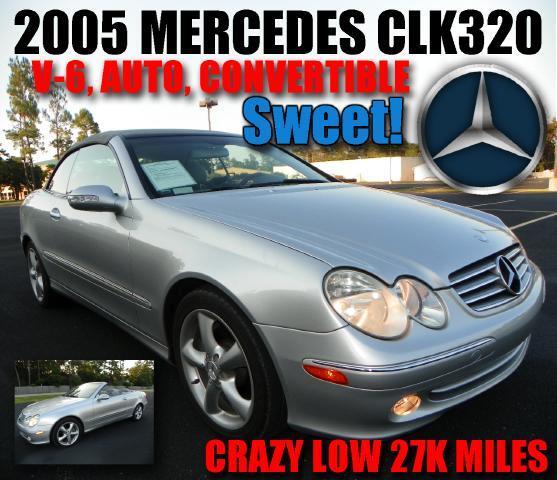 2005 Mercedes-Benz CLK-Class CLK320 Cabriolet