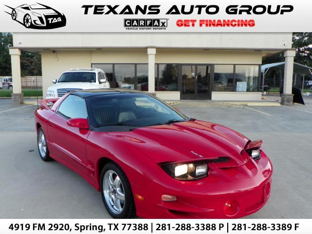 2002 Pontiac Firebird Coupe RAM AIR FORMULA TRANS AM WS6 6 SPEED