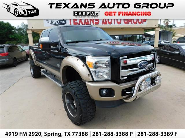 2012 Ford F-350 SD King Ranch Lariat
