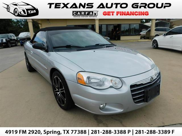 2004 Chrysler Sebring Touring Platinum Convertible