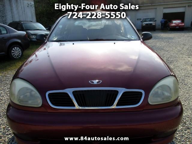 2000 Daewoo Lanos SE Hatchback