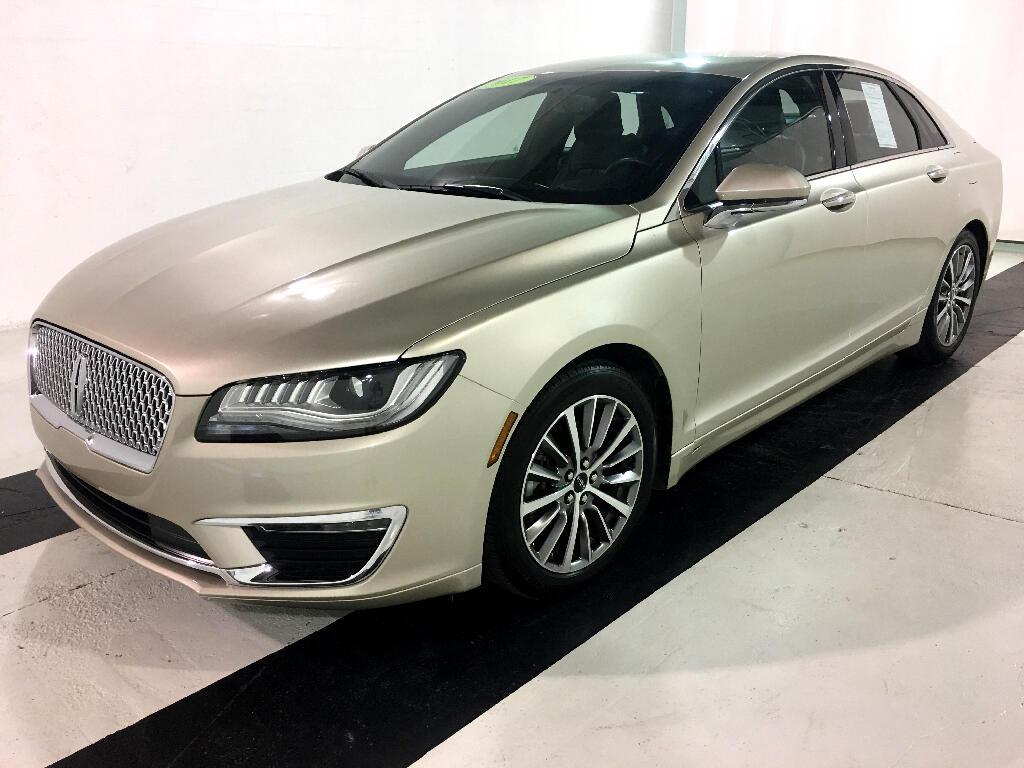 2017 Lincoln MKZ Premier FWD