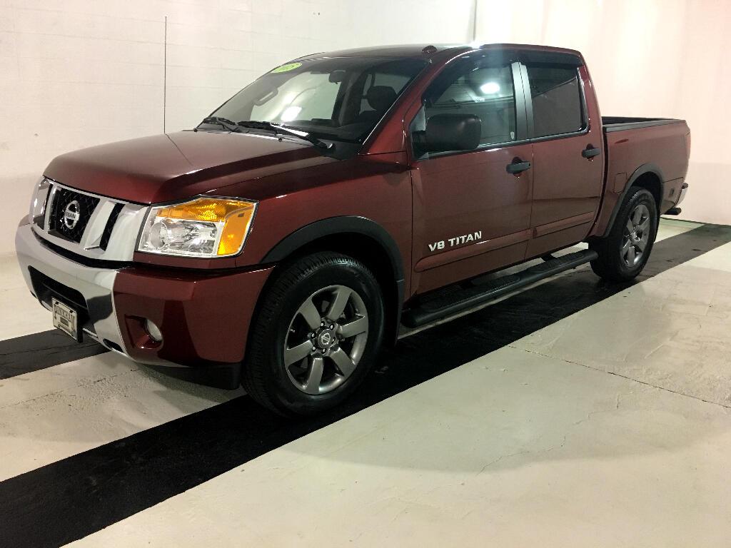 2015 Nissan Titan SV Crew Cab 2WD