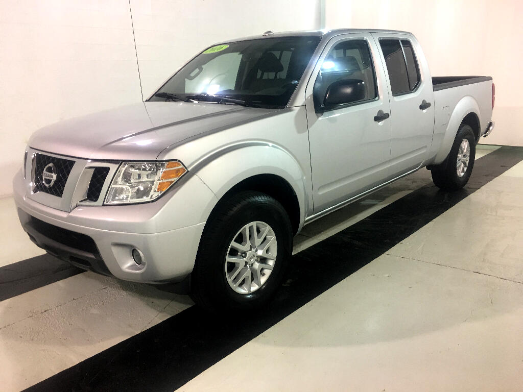 2016 Nissan Frontier SV Crew Cab LWB 5AT 2WD