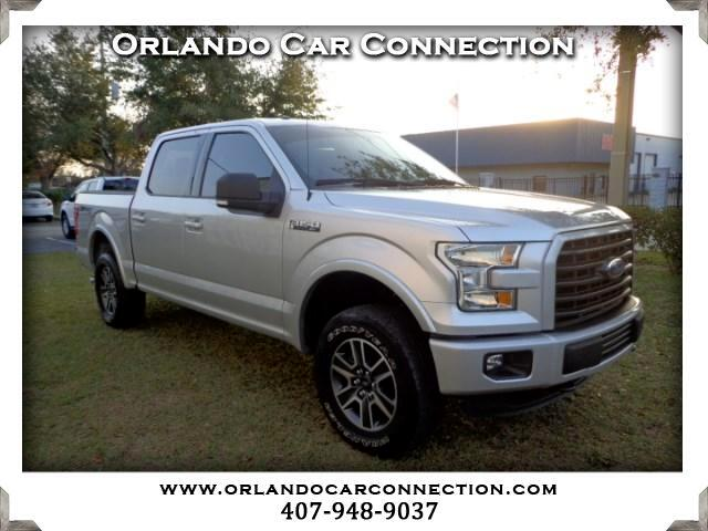"2015 Ford F-150 4WD SuperCab 145"" FX4"