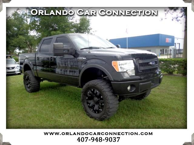 2013 Ford F-150 FX4 SuperCab 5.5-ft. Bed 4WD