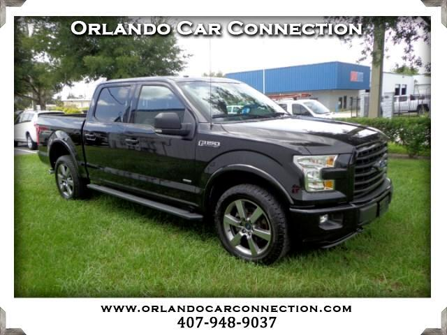 2015 Ford F-150 FX4 SuperCab 5.5-ft Box 4WD