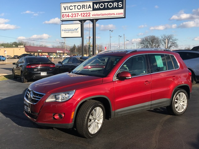 2011 Volkswagen Tiguan SEL 4Motion AWD
