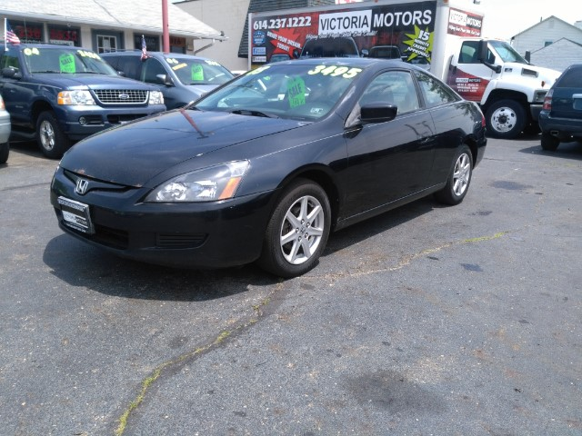 2003 Honda Accord EX Coupe AT with Leather and XM Radio