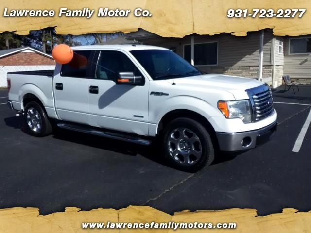 "2012 Ford F-150 2WD SuperCrew 150"" XLT"