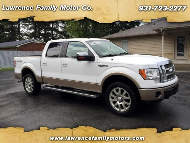 2011 Ford F-150 King Ranch Crew Cab 4x4