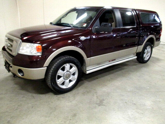 2008 Ford F-150 King Ranch SuperCab Short Bed 4WD