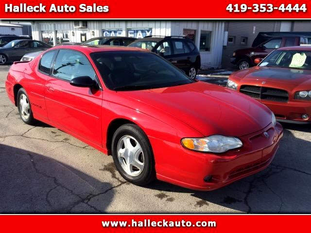 2003 Chevrolet Monte Carlo Welcome to Halleck Auto Sales This 2003 Monte Carlo SS has a Clean Carf