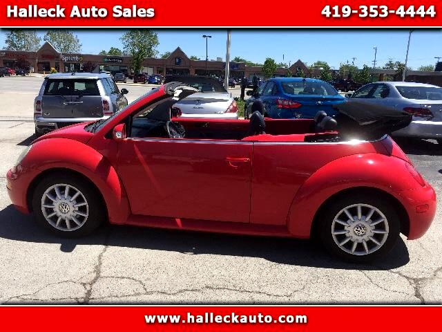 2004 Volkswagen New Beetle Visit Halleck Auto Sales online at wwwhalleckautocom to see more pictu