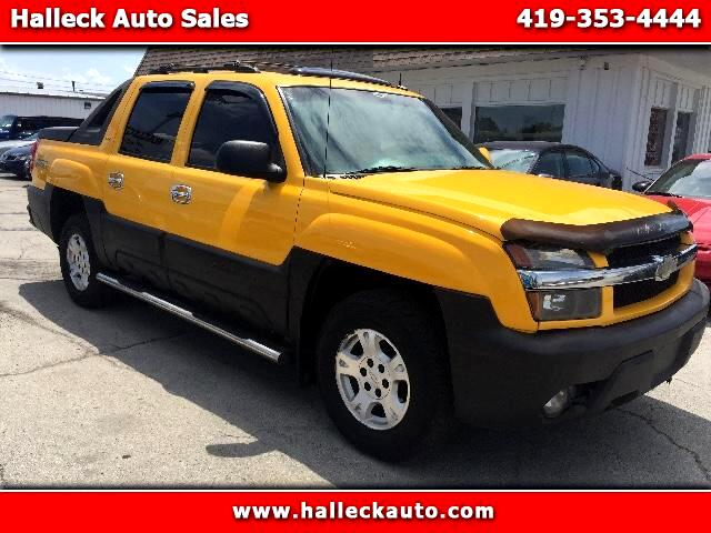 2003 Chevrolet Avalanche Z71 PACKAGE  LEATHER SEATS  POWER SUNROOF  POWER DRIVER  PASSENGER SEA