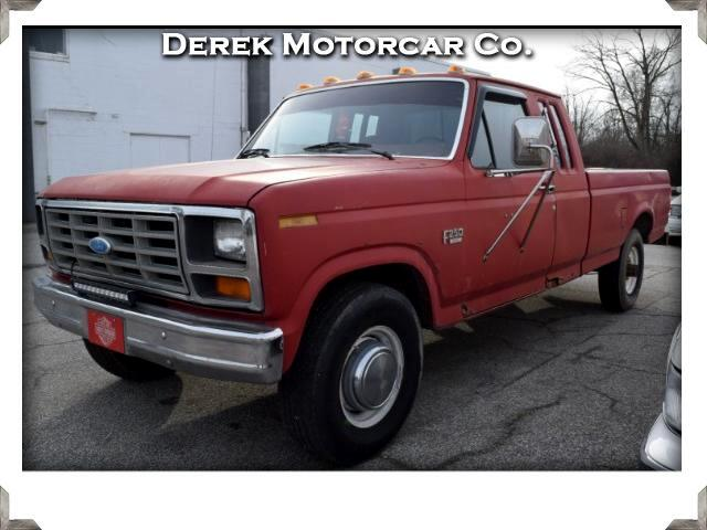 1986 Ford F-250 SuperCab 2WD