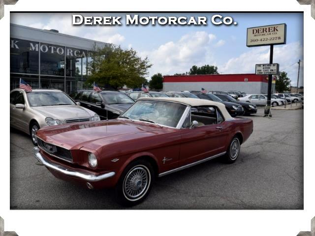 1966 Ford Mustang 2-Door Convertible