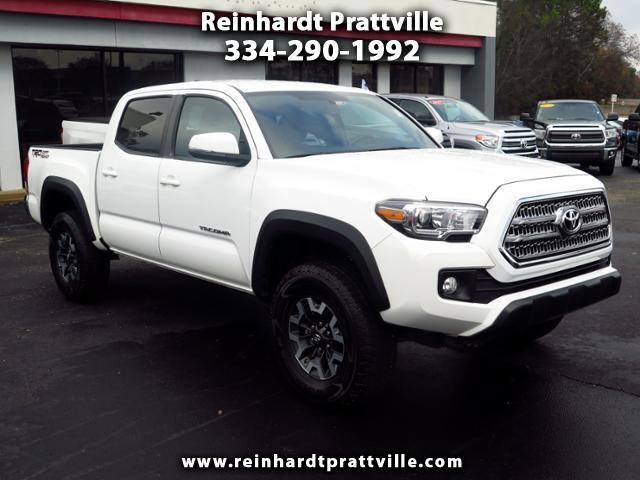 2016 Toyota Tacoma SR5 Double Cab Long Bed V6 5AT 2WD
