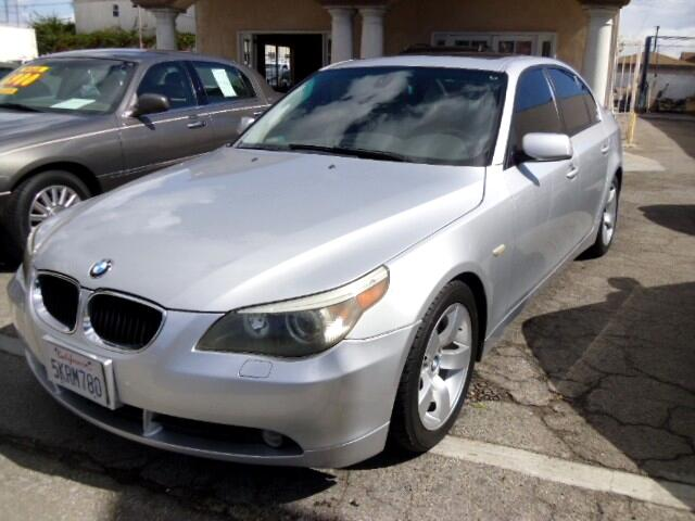 2004 BMW 5-Series 525i