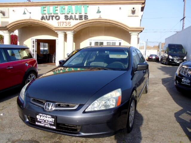 2005 Honda Accord LX V-6 Sedan AT