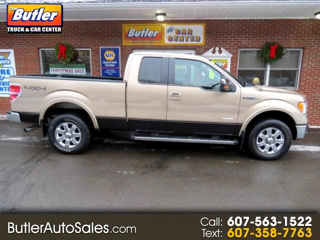 2013 Ford F-150 Lariat SuperCab 6.5-ft. Bed 4WD