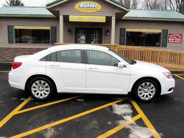 used 2013 chrysler 200 for sale in oneonta ny 13838 butler auto sales inc. Black Bedroom Furniture Sets. Home Design Ideas