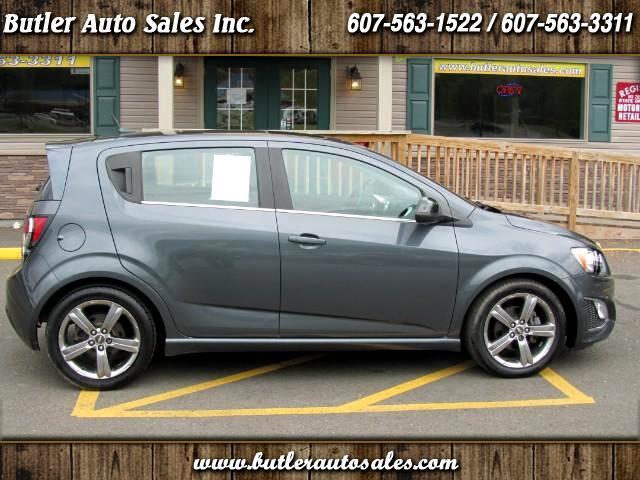 2013 Chevrolet Sonic RS Auto 5-Door
