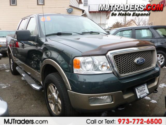 2005 Ford F-150 4WD SuperCrew 150