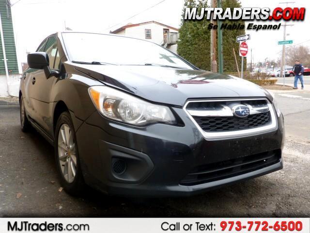 2012 Subaru Impreza Premium 4-Door w/All Weather Package