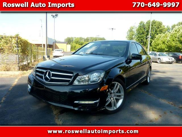 2014 Mercedes-Benz C-Class C250 Luxury Sedan