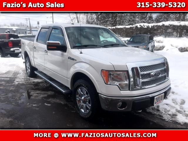 "2010 Ford F-150 SuperCrew 139"" Lariat 4WD"