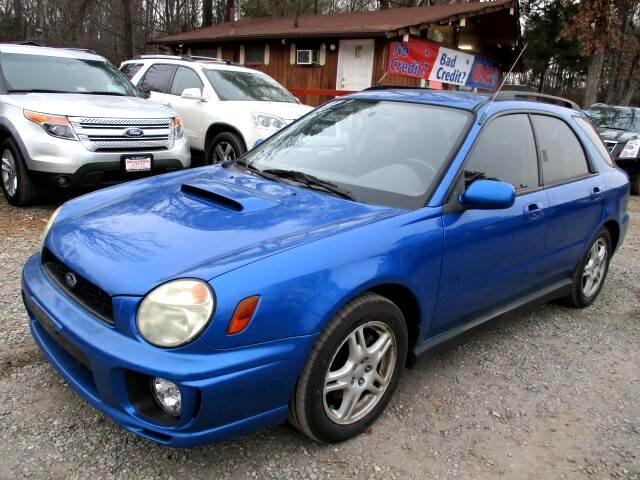 2003 Subaru Impreza Sedan WRX 4dr Man WRX