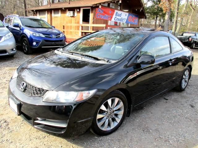 2010 Honda Civic EX-L Coupe 5-Speed AT with Navigation