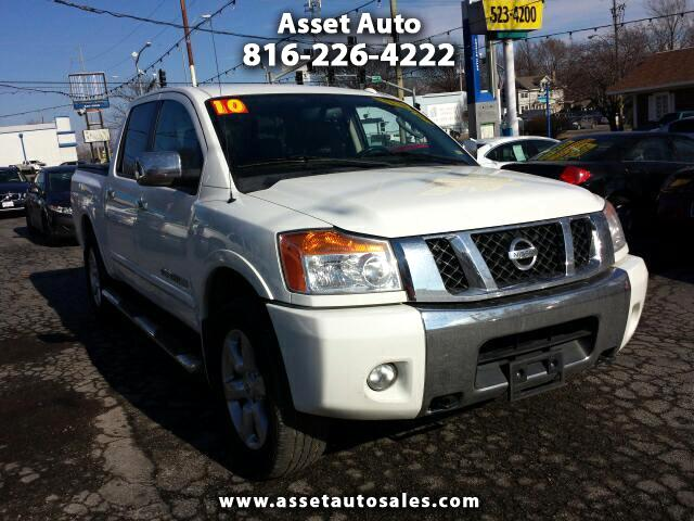 used 2010 nissan titan le crew cab 4wd swb for sale in. Black Bedroom Furniture Sets. Home Design Ideas