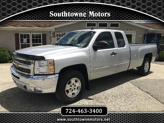 2012 Chevrolet Silverado 1500 Ext. Cab 4-Door Long Bed 4WD