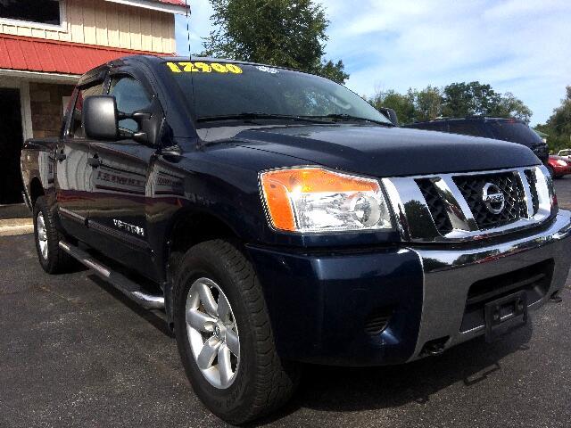 2008 Nissan Titan SE Crew Cab 4WD SWB
