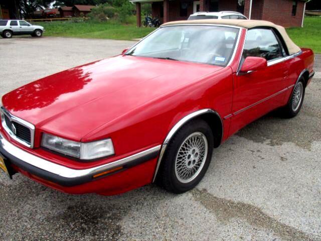 1991 Chrysler TC By Maserati Convertible