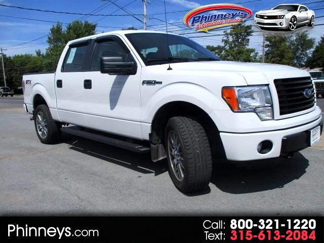 "2014 Ford F-150 4WD SuperCrew 145"" STX"