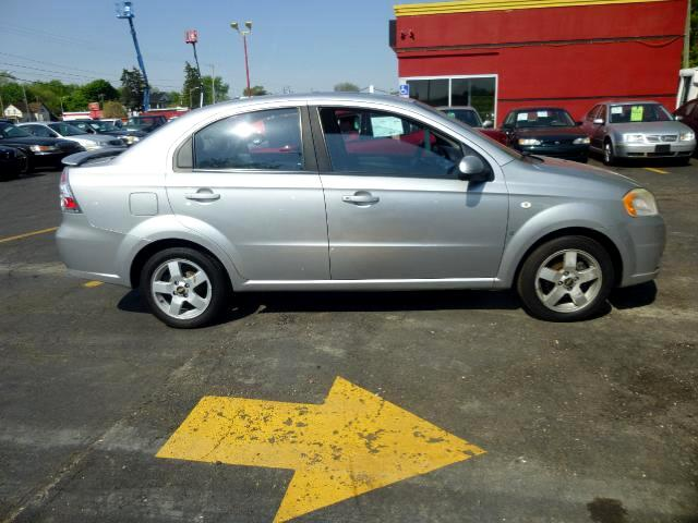 2007 Chevrolet Aveo LT 4-Door