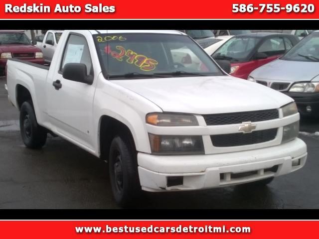 2006 Chevrolet Colorado Work Truck 2WD