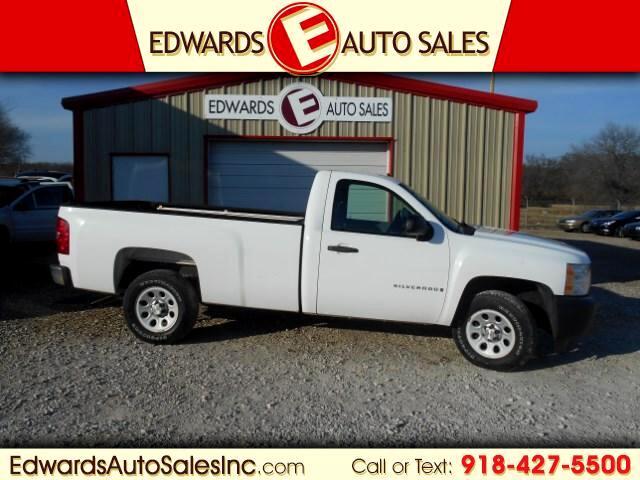 2008 Chevrolet Silverado 1500 Work Truck Long Box 2WD