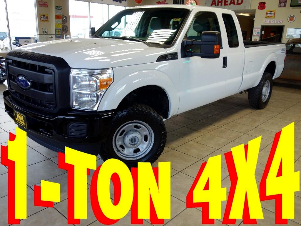 2014 Ford F-350 SD XL SuperCab Long Bed 4WD