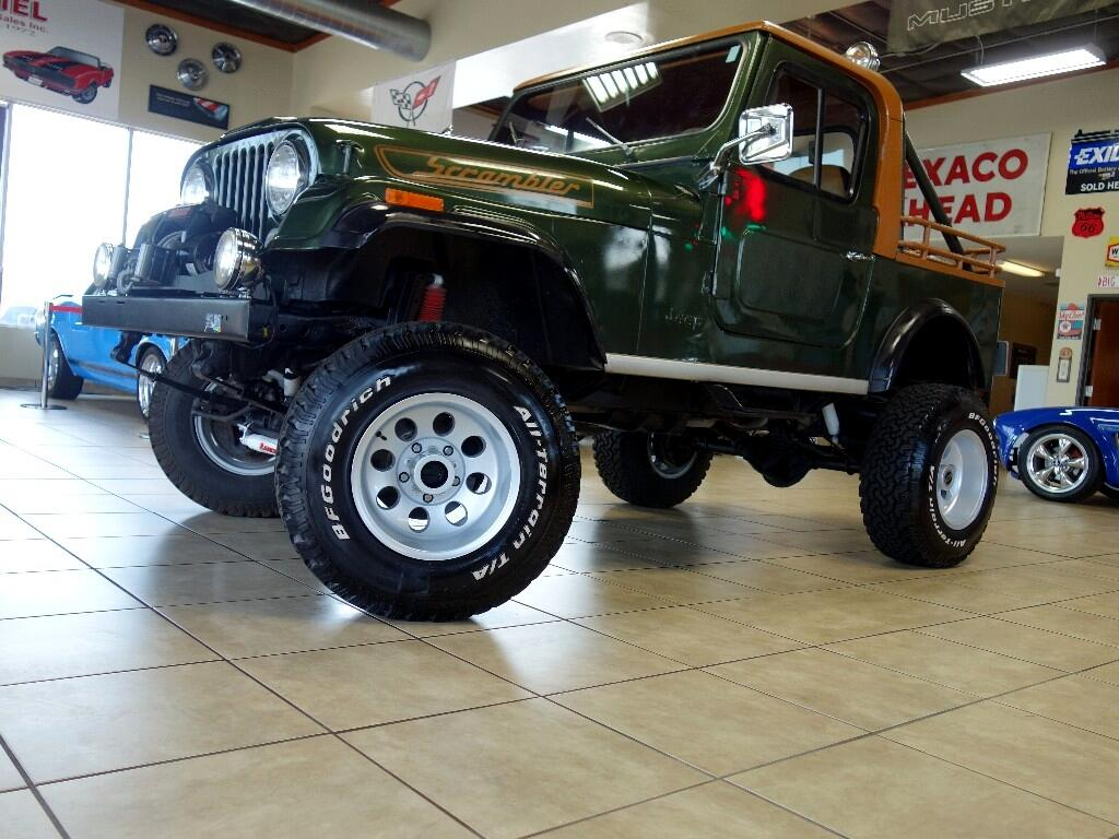 1983 AMC CJ7 Scrambler