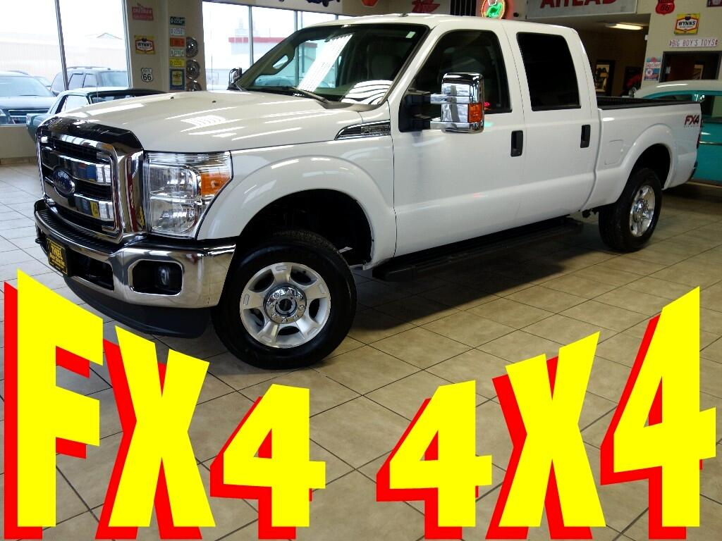 2014 Ford F-250 SD FX4 Crew-Cab Short Bed 4WD