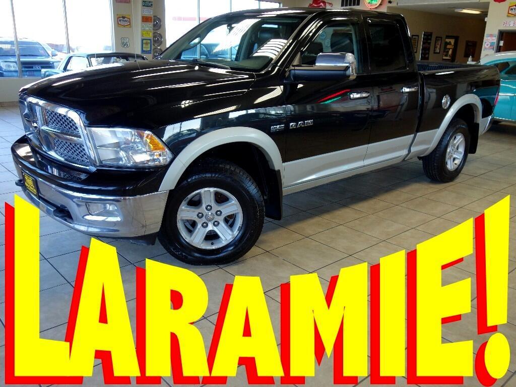 2010 RAM 1500 Laramie Quad Cab 4WD