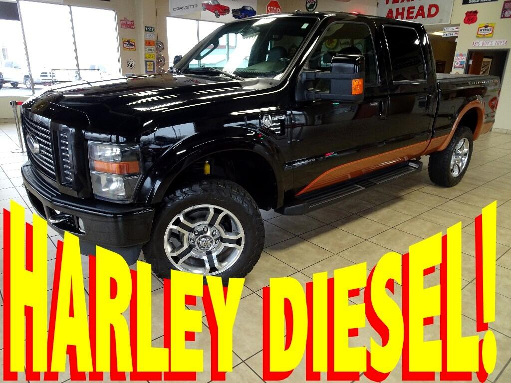 2008 Ford F-350 SD Harley-Davidson Crew-Cab Short Bed 4WD