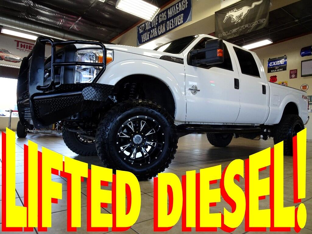 2012 Ford F-250 SD FX4 CREW CAB SHORT BED 4WD