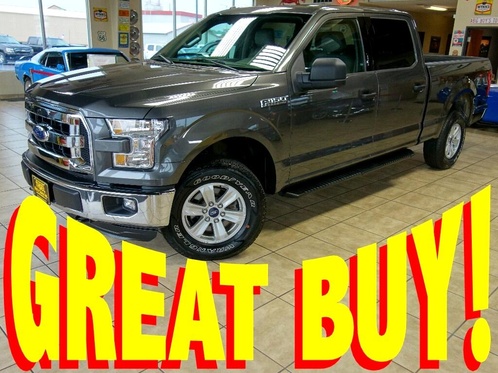 2015 Ford F-150 XL SuperCrew 6.5-ft. Bed 4WD