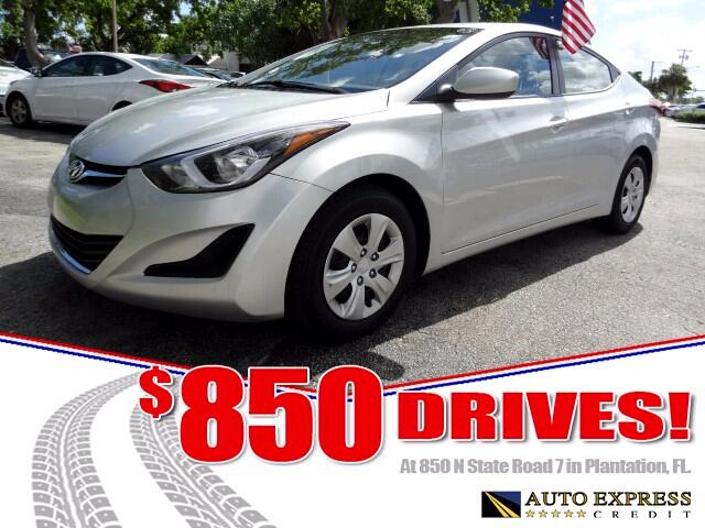 2016 Hyundai Elantra For 2016 Hyundai Elantra gets new front and rear styling with LED lighting on